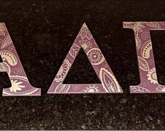 Handmade Painting Letters