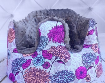 Lilac & Mint Floral Bumbo Cover