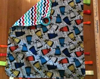 Dr Who Ribbon Blanket