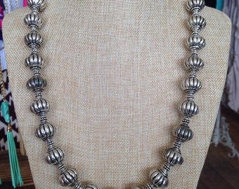 Smooth Beaded Navaho Necklaces