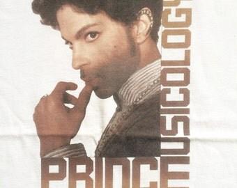 Original Prince Musicology tour t shirt