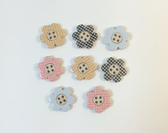 Flower Shaped Buttons