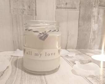 Special Sister  (all my love) Scented Candle