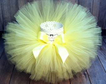 Yellow Tutu, Baby Tutu, Newborn Tutu, Toddler Tutu, First Birthday Tutu, Girls Tutu, Infant Tutu, Cake Smash Tutu, Photo Prop Tutu, Tutu