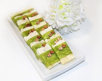 organic soap wedding favor, wedding shower, baby shower, vegetal soap bar, hand-made soap, vegan, without palm oil