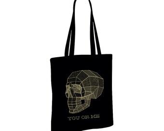 Bag fabric black