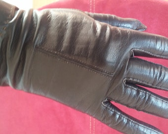 Alexette Brazilian vintage driving gloves black