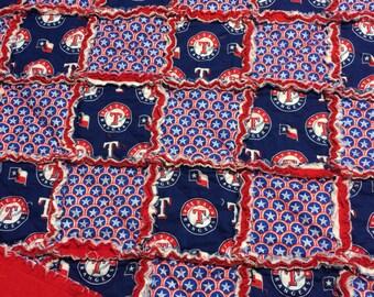 Texas Rangers Quilt