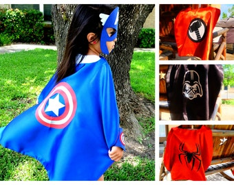 15 Pack ~ Superhero Capes Bulk - Birthday party favors, costume, capes, costumes, dress up, cosplay.
