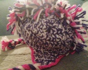 Handmade mohawk hat