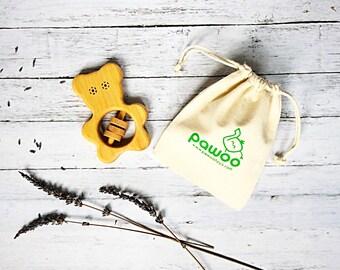 Baby Shower gift, Organic Rattle toy, Organic Baby Rattle, Teething toy, Baby Gift, New Baby Gift, Baby Rattle, Baby Teether, Baby Toy