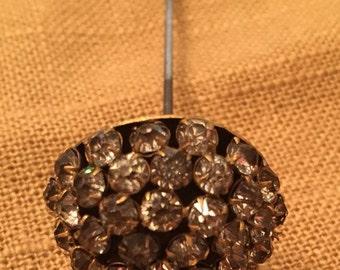 Vintage Rhinestone Hat  pin