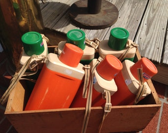 Vintage Hiking Canisters