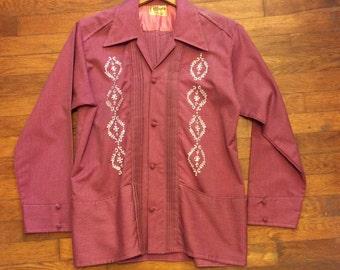Groovy Guayabera Shirt vintage