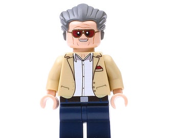 Stan Lee - Custom Minifigure