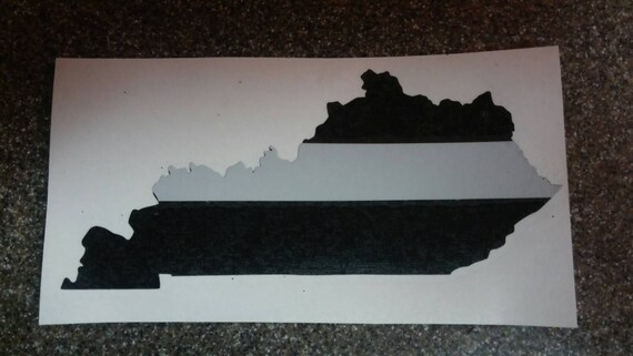 Thin Gray Line Kentucky State Police