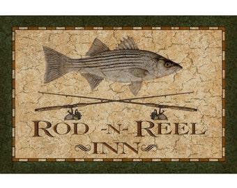 Rod-N-Reel Inn Sign