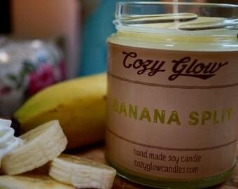Banana Split Soy Candle 6.8oz Jar