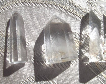 Clear Quartz Points with Phantoms