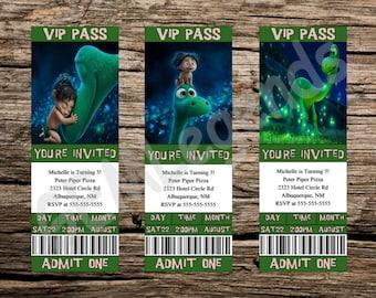 The Good Dinosaur Invitation, The Good Dinosaur Birthday Invitation, The Good Dinosaur Party, The Good Dinosaur Movie, Good Dinosaur Pixar
