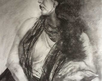 Figure drawing, pencil drawing, Figurative drawing