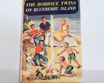 The Bobbsey Twins On Blueberry Island (with Inverted copyright page)