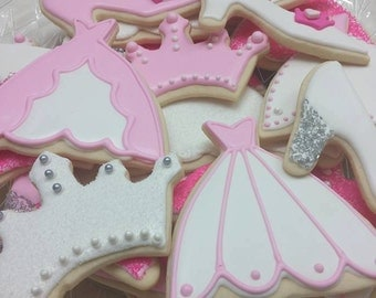Princess Cookies (available in any color)