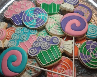 Sweet Treats Cookies (available in any colors)