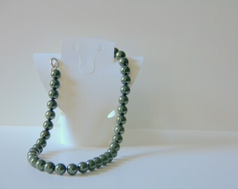 Jewel Tone Swarovski Pearl Necklaces