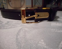 Ralph Lauren Brown Leather Belt Size Small