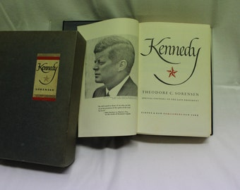 Theodore C. Sorensen | Kennedy - Signed Limited First Edition Number 1425 of 1963, 1965 Publication