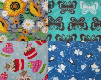 Design your own cloth pad, COTTON FLANNEL FABRIC group 1