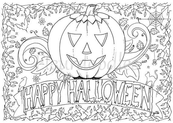 Gemütlich Halloween Malvorlagen Für Erwachsene Fotos - Ideen färben ...
