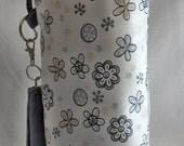 SPIN-2015-001, spindle, spindle handbag, thick lining, removable strap, DrawString, Spindlebag, spindle, spin, spinning