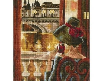 Cross Stitch Kit by RTO - Room With A View, Paris