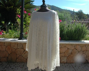 Ibizastijl lace tunic