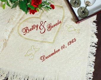 50th Anniversary Gifts - 50th Anniversary Gift Ideas - 50th Anniversary Gifts For Parents - Present - Personalized Anniversary Gift - Custom