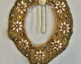 1950s Beaded Collar Necklace