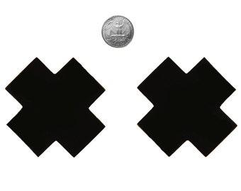 Perky Pasties Nipple Cover Black X PP073