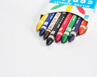 Milton Bradley Copley Non-toxic Crayons, Set of 8