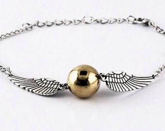Harry Potter Golden Snitch Bracelet HP-13