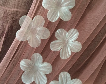 Light mint bridal fabric flowers, bridal fabric, flowers, hair pins, hair accessories, bridal accessories, wedding accessories