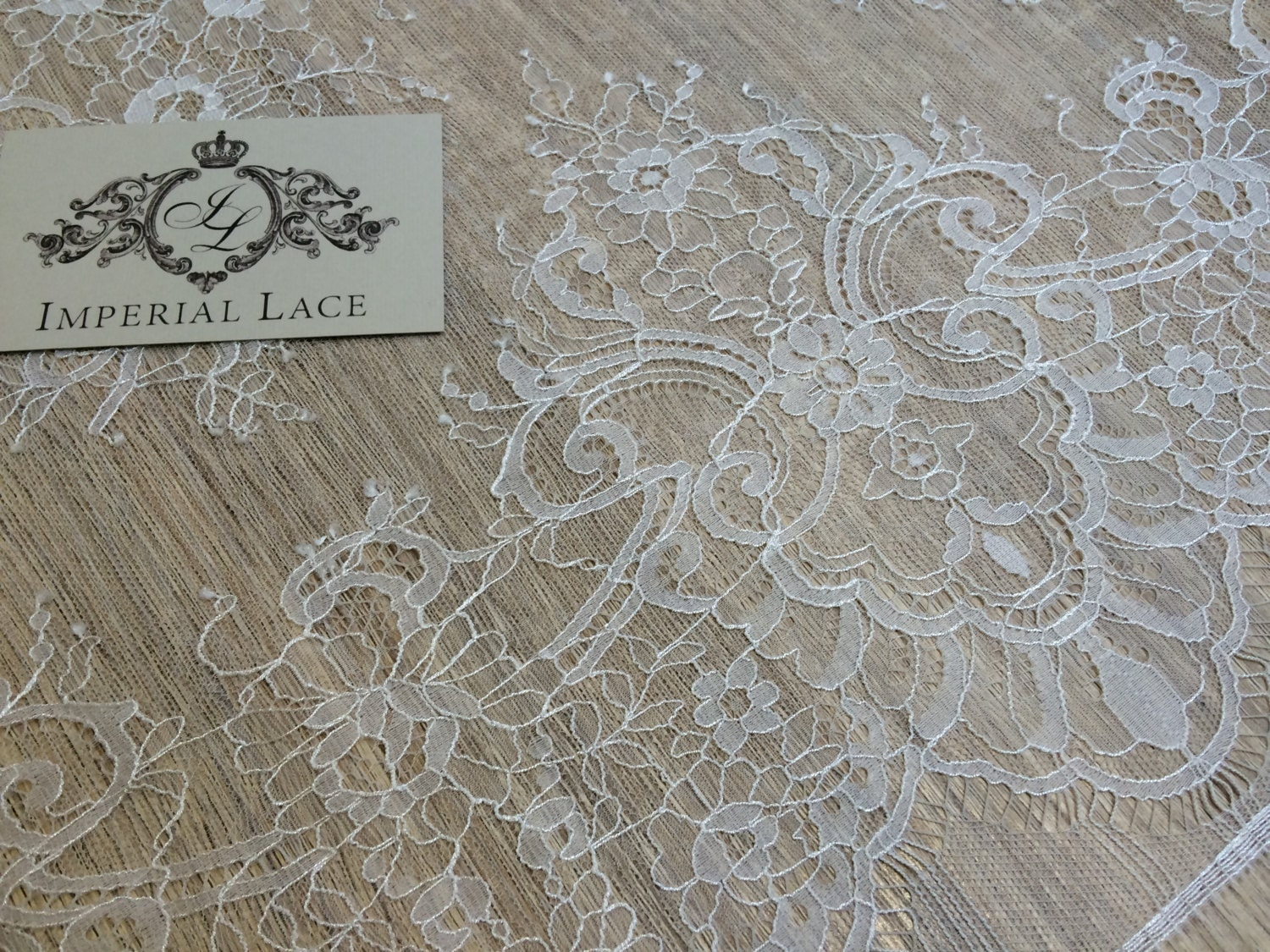 Offwhite lace fabric french lace embroidered lace wedding for French lace fabric for wedding dresses