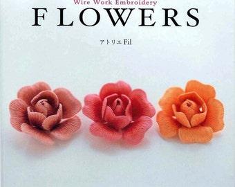 Ondori Wire Work Embroidery - Japanese eBook - PDF - Digital Download