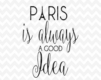 Paris SVG, Eiffel, City Clip Art , PNG, Cameo, Cricut, Silhouette, Clip Art, Cut Files, Svg Cut File, Word Art, Quote, Vector File, SVG File
