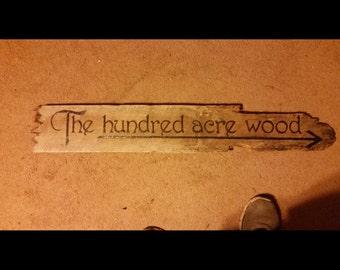 Handmade reclaimed wood signs
