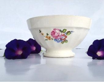 SALE 30% OFF French café au lait Sarreguemines bowl / French vintage bowl / French vintage Kitchen