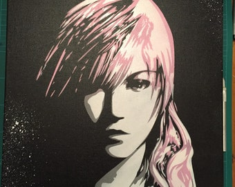 Lightning Final Fantasy 13 inspired art