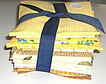 Quilt Pack (17) - Yellows & Browns