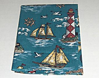 Fabric Squares (2) - Nautical Print